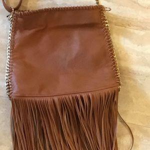 Imoshion Faux Leather Purse W/ Fringe